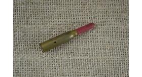 Учебный патрон 8х50-мм R Лебель с деревянной пулей/С красной пулей клеймо 10 [мт-85(2)]