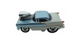 Р/У машина из серии &quotMuscle Сar&quot с гоночным Мотором 1/16 + свет + звук голубая 2