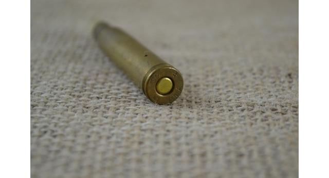 Холостой патрон .30-06 Springfield с деревянной пулей, Дания