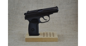 Магнитная подставка для пистолета/Под пистолеты ТТ, ПМ и 16 учебных патронов [п-54]