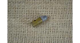 Макет патрона 9х17-мм (.380 ACP) со свинцовой пулей