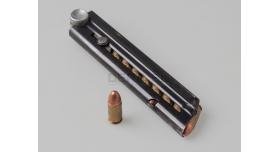 Магазин для пистолета Люгер Р-08 (Парабеллум) / На 8 патронов оригинал штамповка пятка алюминий склад [пар-29]