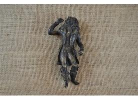 Миниатюрная скульптура из бронзы, конец XVIII - начало XIX вв.