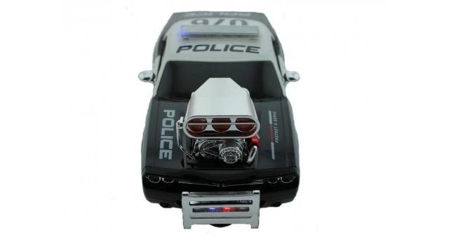 Р/У полицейская машина из серии &quotMuscle Сar&quot с гоночным Мотор. 1/16+свет+звук 6