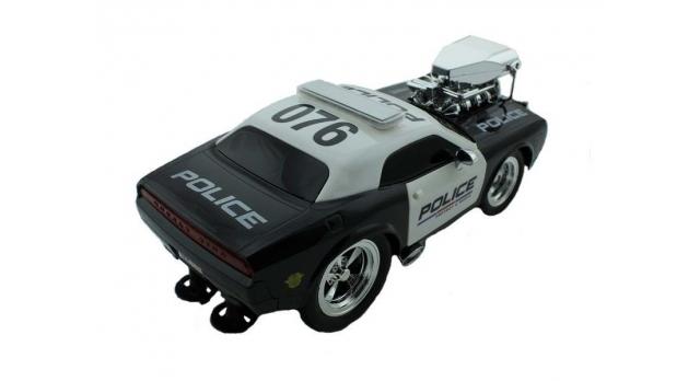 Р/У полицейская машина из серии &quotMuscle Сar&quot с гоночным Мотор. 1/16+свет+звук 10