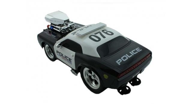 Р/У полицейская машина из серии &quotMuscle Сar&quot с гоночным Мотор. 1/16+свет+звук 12