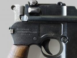 6589 Охолощённый пистолет Mauser C96