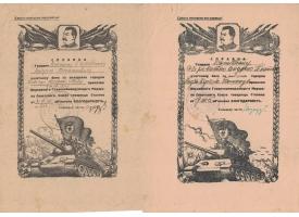 Комплект документов Гвардии капитана