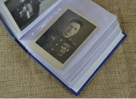 Альбом с фотографиями участников Великой Отечественной войны