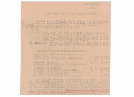 Представление на утверждение в должности с подписью И. Черняховского