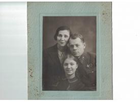 Комплект фотографий генерал-лейтенанта юстиции, 1940-е гг.