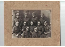 Групповое фото бойцов РККА