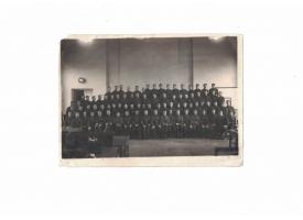 Групповое фото бойцов РККА с тремя генералами