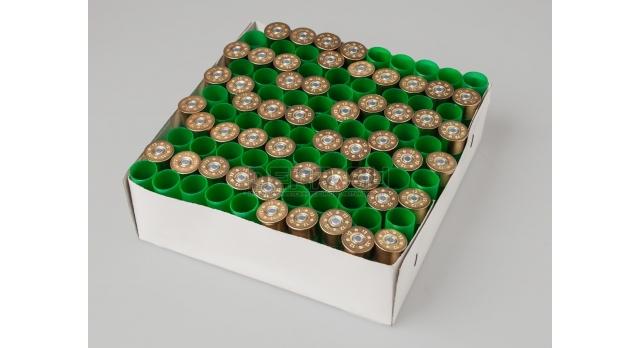 Гильзы с капсюлем 12 калибра / Новые Record 100 штук основание латунь 12 мм гильза пластик общая высота 70 мм [сиг-315]