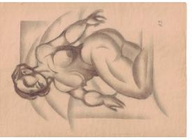 Рисунок художника И. Либермана, 1920-е гг./Вариант 1 [п-46]