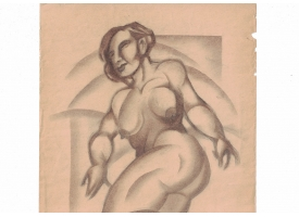 Рисунок художника И. Либермана, 1920-е гг.