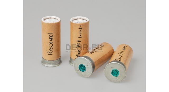 Сигнальные патроны 26-мм (4 калибр) завода Record / Новые упаковка 10 ракет белого огня длина гильзы 70 мм [сиг-325]