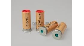 Сигнальные патроны 26-мм (4 калибр) завода Record / Новые упаковка 10 ракет красного огня длина гильзы 70 мм [сиг-323]
