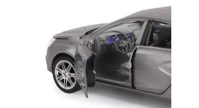 Машина &quotАВТОПАНОРАМА&quot LADA VESTA седан, 1/24,  серый, свет. звук. эффекты, в/к 24,5*12,5*10,5 см 6