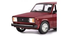 Машина &quotАВТОПАНОРАМА&quot ВАЗ 2104, 1/24, бордовый, инерция, в/к  24,5*12,5*10,5 см 6