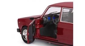 Машина &quotАВТОПАНОРАМА&quot ВАЗ 2104, 1/24, бордовый, инерция, в/к  24,5*12,5*10,5 см 9