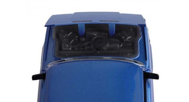 Машина &quotАВТОПАНОРАМА&quot ВАЗ 2107, 1/24, синий, инерция, в/к 24,5*12,5*10,5 см 9