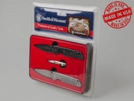 6735 Сувенирный набор ножей «Protected by Smith & Wesson» к 150-летию компании