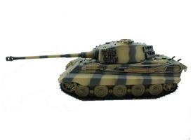 Р/У танк Torro King Tiger (башня Henschel) 1/16 2.4G, ВВ-пушка, деревянная коробка 1