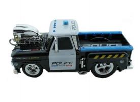 Р/У полицейский пикап из серии &quotMuscle Сar&quot с гоночным Мотор. 1/16 + свет + звук 1