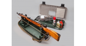Кейс для обслуживания и чистки оружия MTM / Двухсекционный [RBMC]