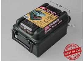 Влагозащищённый кейс для патронов 12 калибра с боксом для чоков MTM SW-100