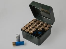 6877 Коробка для патронов «Магнум» 12 и 10 калибров MTM S25-12M
