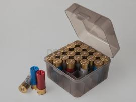 6880 Коробка для патронов «Магнум» 12 и 10 калибров MTM S25-12M