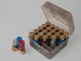 6885 Коробка для 25 патронов 12,16 и 20 калибров MTM S25D