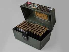 6891 Кейс для 100 патронов 12 калибра MTM SF-100-12
