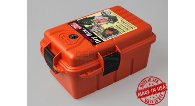 Водонепроницаемый бокс для документов, электроники | Оранжевый 24х19х12-см [S1074-41]