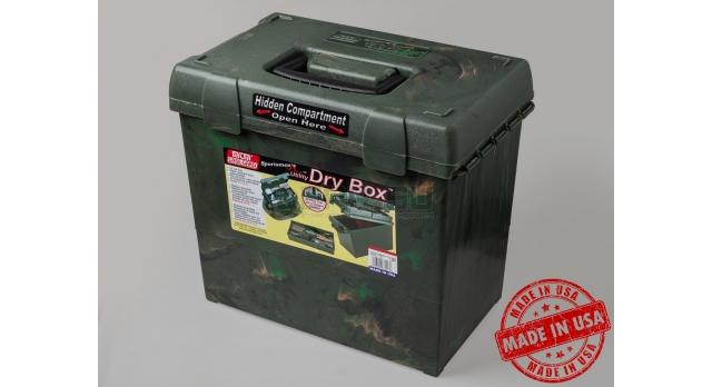 Влагозащищённый ящик для хранения патронов и принадлежностей MTM / Камуфляжный 38х22х33-см [SPUD2-09]