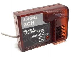 Приемник 2,4GHz  3х канальный для автомоделей Himoto E10
