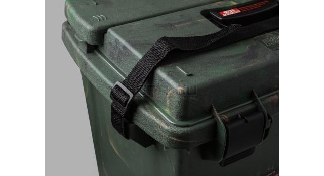 Влагозащищённый ящик для хранения патронов и принадлежностей MTM / Камуфляжный 47х33х38-см [SPUD7-09]