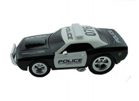 Р/У полицейская машина из серии &quotMuscle Сar&quot 1/16 + свет + звук 1