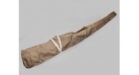 Армейский чехол для винтовки Мосина, ДП-27, СВТ, АВТ / Оригинал поздний тёмный брезент [сн-316]
