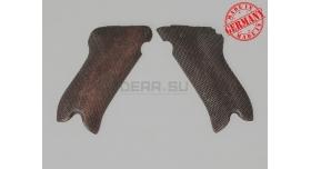 Накладки на Luger P-08 (Парабеллум) / Деревянные оригинал [пар-11]