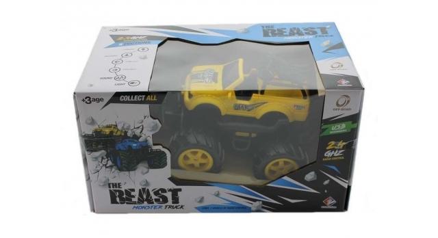 Р/У внедорожник Monster Truck Pickup Mars в ассортименте 1/14 + свет + звук 13