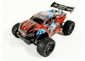 Радиоуправляемая трагги Remo Hobby S EVO-R Brushless (красная) 4WD 2.4G 1/16 RTR