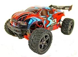 Радиоуправляемая трагги Remo Hobby S EVO-R UPGRADE (красный) 4WD 2.4G 1/16 RTR