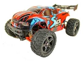 Радиоуправляемая трагги Remo Hobby S EVO-R Brushless UPGRADE (красный) 4WD 2.4G 1/16 RTR