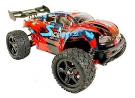 Радиоуправляемая трагги Remo Hobby S EVO-R Brushless UPGRADE (красный) 4WD 2.4G 1/16 RTR 1