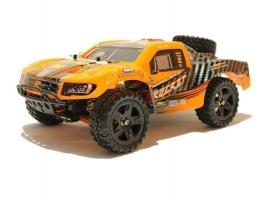 Радиоуправляемый шорт-корс Remo Hobby Rocket Brushless UPGRADE (оранжевый) 4WD 2.4G 1/16 RTR 1