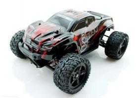 Радиоуправляемый монстр Remo Hobby SMAX Brushless (красный) 4WD 2.4G 1/16 RTR