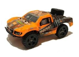 Радиоуправляемый шорт-корс Remo Hobby Rocket UPGRADE (оранжевый) 4WD 2.4G 1/16 RTR